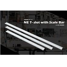 NE 1000mm T-track T- slot with Scale Bar Table Saw Woodworking Workben..