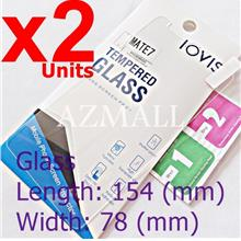2PCS LOVIS 2.5D Tempered Glass Screen Protector Huawei Ascend Mate 7