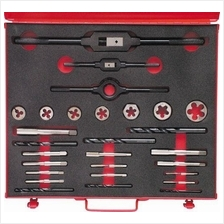 SHERWOOD No.10-3/4' UNF 28-PCE HSS THREADING SET