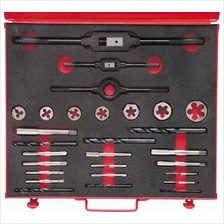 SHERWOOD No.10-3/4' UNC 28-PCE HSS THREADING SET