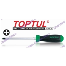 TOPTUL SUPER-GRIP SCREWDRIVER WITH HEX DRIVER PH3X150MM (FBHB0315)