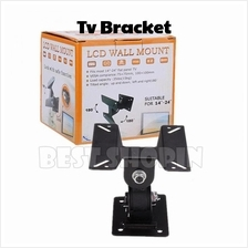 "LCD TV Monitor Wall Mount Bracket 14-24 "" Adjustable Stand Holder"