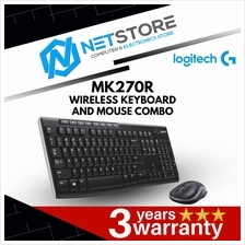 LOGITECH MK270R WIRELESS KEYBOARD & MOUSE COMBO 920-006314