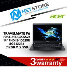 ACER TRAVELMATE P6 14' FHD i5-10210U 8GB LAPTOP - P614-51T-G2-55Z1