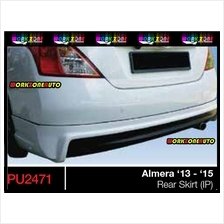 PU2471 Nissan Almera PU Rear Skirt (Impul)