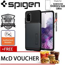 "Spigen Slim Armor for Samsung Galaxy S20 Plus 6.7""  Metal Slate"