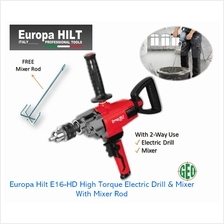 EUROPA HILT E16-HD 1300W HIGH TORQUE ELECTRIC DRILL  & MIXER