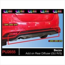 PU2655 Perodua Bezza PU Rear Diffuser (Gear Up)