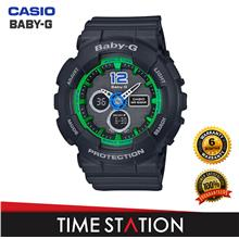CASIO BABY-G BA-120-1B | ANALOG-DIGITAL WATCHES