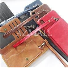 "Card Slot Leather Wallet Back Case Cover Apple iPhone XS Max (6.5"")"