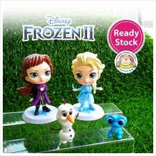 Frozen 2 Princess Anna Elsa Olaf Bruni Figures Toy Cake Topper (4pcs)