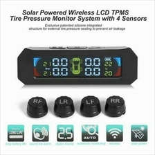 Osom Tire Pressure Monitor System TPMS with Solar Wireless LCD Display