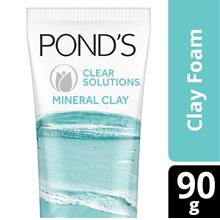 PONDS Ponds Clear Solutions Mineral Clay Face Cleanser 90gBR