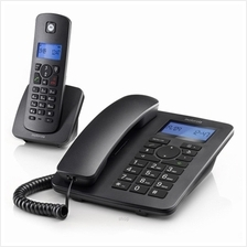 Motorola C4201 Corded Phone Come with C4201H Digital Cordless Phone With Speak)