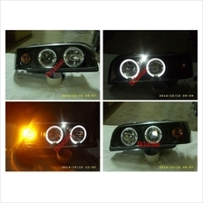 SONAR VOLVO 850 855 LED Ring Projector Head Lamp Black