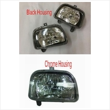Perodua Kancil 94-02 Crystal Head Lamp Black / Chrome Housing 1-side