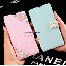 Huawei Honor 6 3X 3C Korea Blink Diamond Flip Cover Casing Case