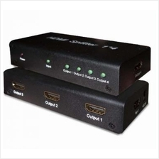 SAROWIN HDMI 1-IN TO 4-OUT V1.3 SPLITTER (HDSP0104M)