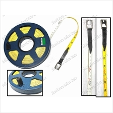 2 Color Blade Surveyor Fiberglass Measuring Long Tape (STR)