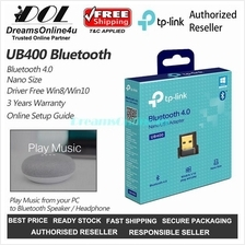 TP-Link UB400 Bluetooth 4.0 Nano USB Adapter Dongle Driver Free for PC