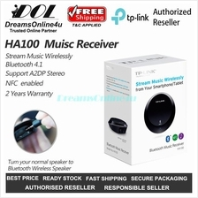 TP-Link HA100 NFC Bluetooth 4.1 A2DP Music Receiver Adapter Dongle