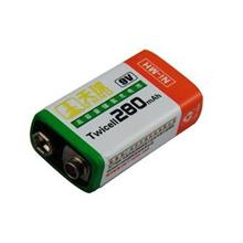 Rechargeable 9V Battery Ni-MH 280mAH