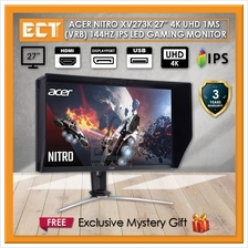 "Acer Nitro XV273K 27 "" 4K UHD 1MS (VRB) 144Hz IPS Gaming Monitor"