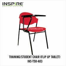 INS-T50-A03 Training/Student Chair (Flip Up Tablet)