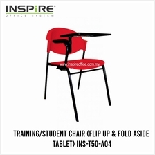 INS-T50-A04 Student Chair (Flip Up & Fold Aside Tablet)