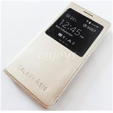 GOLD S View Case Flip Cover Pouch Samsung Galaxy A5 (2016) /A510F *XPD