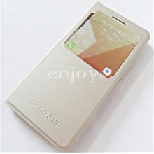 GOLD S View Flip Cover Case Samsung Galaxy A5 (2017)/ A520F (5.2) *XPD