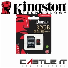 Kingston Canvas React Class 10 UHS-I U3 High Speed MicroSD Memory Card