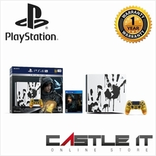 Sony PS4 Pro 1TB PCAS-05113SA Death Stranding Limited Edition Bundle W