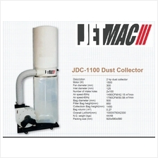 Jetmac JDC-1100A (2.0HP) Dust Collector Machine