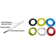 Heat Resistant Silicone Braided Wire (RS-GE)