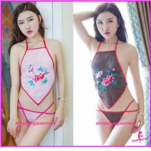 Women Sexy Lingerie Belly Band Costume Sleepwear Nightwear (2 Colors)