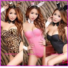 Sexy Lingerie Rabbit Cosplay Costume Sleepwear Nightwear (3 Colors)