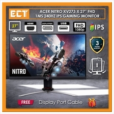 "Acer Nitro XV273 X 27 "" FHD 1ms (GtG) 240Hz IPS Gaming Monitor"