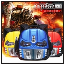Transformers Children's Boys Schoolbags Eyes Shining Cartoon Backpack