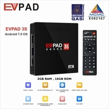 EVPAD 3S BLUETOOTH 4K ANDROID 7.0 2GB RAM 8GB ROM MEDIA PLAYER