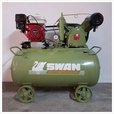 Swan Air Compressor 12Bar 6.5HP 900rpm 406L/min HVU-203E ( Honda )