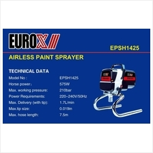 EuroX Airless Paint Sprayer EPSH1425