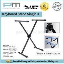 Upstage Keyboard Musical Stand - Single X Stand - X101B