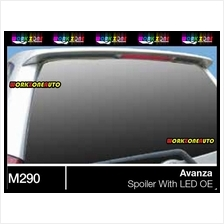M290 Toyota Avanza Top Fiber Spoiler With LED OEM