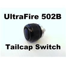 Ultrafire 502B Flashlight Tailcap Tail Cap Switch Button 1029.2tc