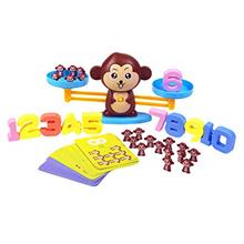 Zoostliss Animal Monkey Weighing Scale Montessori Counting Toys STEM Math Coun