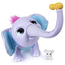 Wildluvs Juno My Baby Elephant with Interactive Moving Trunk  & Over 150 Sound