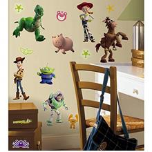 RoomMates Toy Story 3 Glow In The Dark Peel and Stick Wall Decals - RMK1428SCS