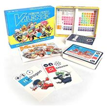 Science Ninjas : Valence Card Game- Advanced Chemistry + Simple Rules + Ninjas
