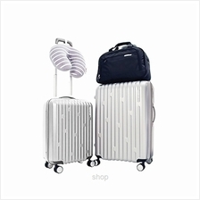 American Tourister SALINAS 5 PC Set Luggage 20 Inch + 26 Inch (Silver))